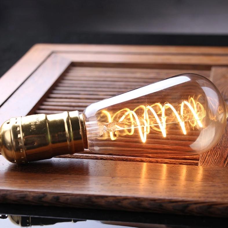 Lâmpada Filamento LED ST64 4W BIVOLT