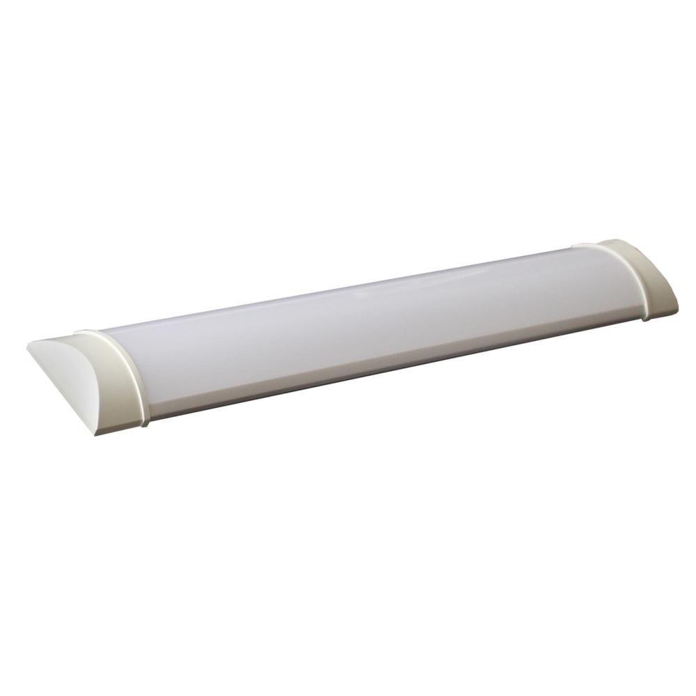 Luminária LED de Sobrepor Estilo Calha - 18W 3000K Bivolt