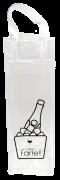 Bolsa PVC Transparente para Gelo e para 1 gf