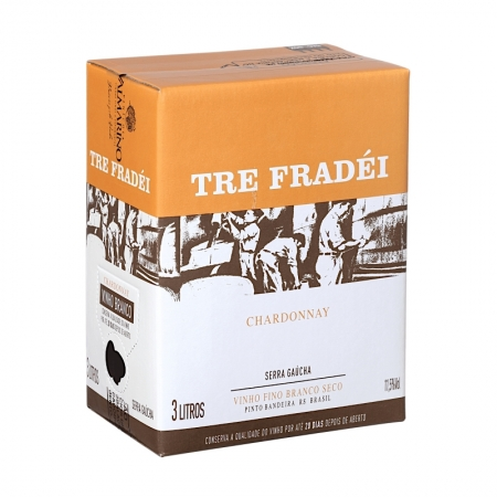 Vinho Branco BAG IN BOX Valmarino Chardonnay 3L