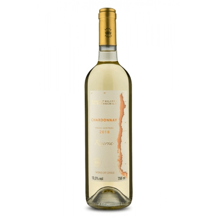 Vinho Branco Baron Philippe de Rothschild Chardonnay Reserva 750mL