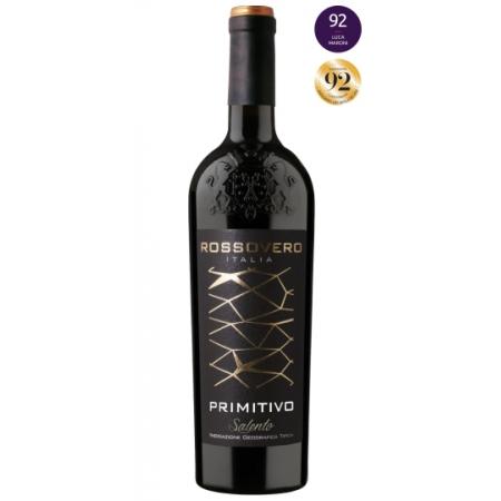 Vinho Tinto Rossovero Primitivo Salento IGT 750mL