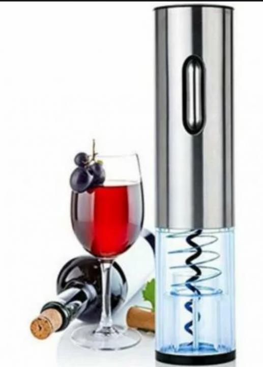 Abridor elétrico para Vinhos a Pilha com cortador de lacre de proteção da garrafa  - ADEGA FARRET