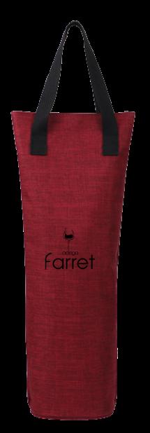 Sacola Térmica para Vinho Adega Farret - 1 Garrafa  - ADEGA FARRET