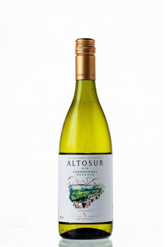 Vinho Branco AltoSur Reserve Chardonnay 750mL  - ADEGA FARRET