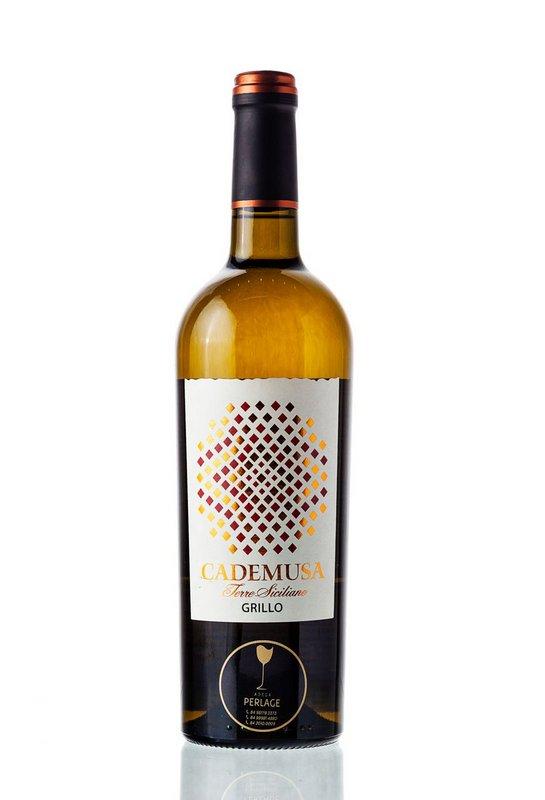 Vinho Branco Cademusa Grillo IGT Terre Siciliane 750mL  - ADEGA FARRET