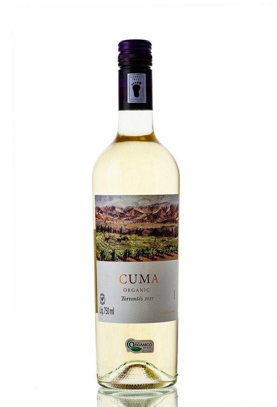Vinho Branco Cuma Torrontes 100% Orgânico 750mL  - ADEGA FARRET