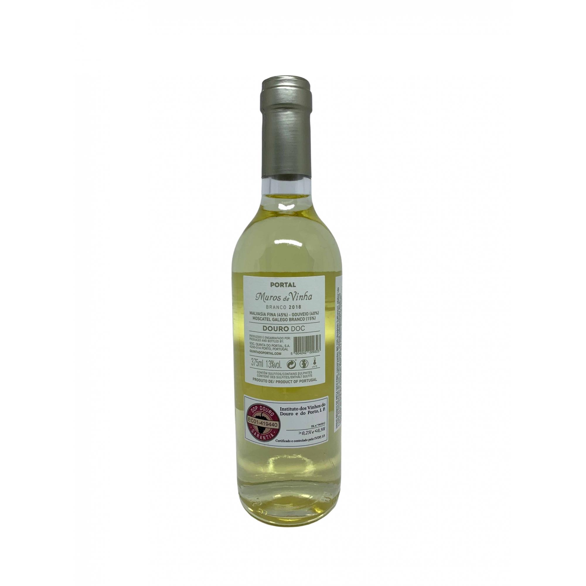 Vinho Branco Muros de Vinha 375mL  - ADEGA FARRET