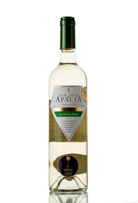 Vinho Branco San José de Apalta Clásico Sauvignon Blanc 750mL  - ADEGA FARRET