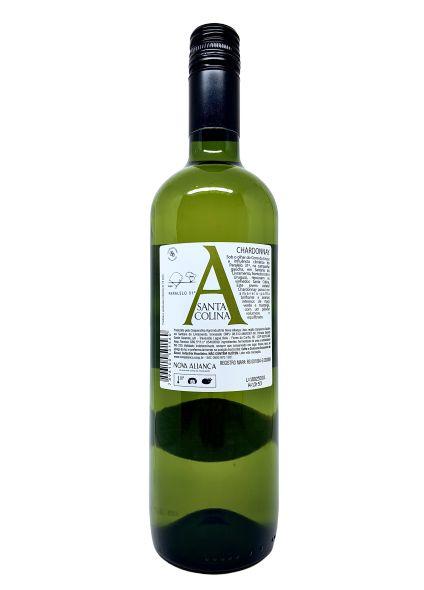 Vinho Branco Santa Colina Chardonnay 750mL  - ADEGA FARRET