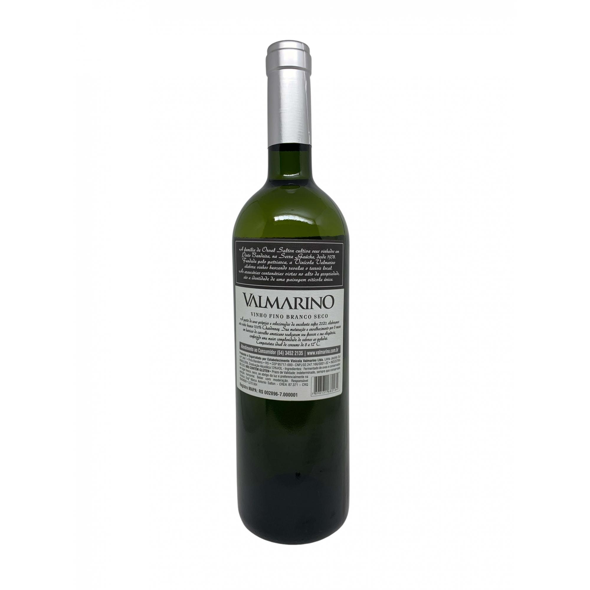 Vinho Branco Valmarino Chardonnay  750mL  - ADEGA FARRET