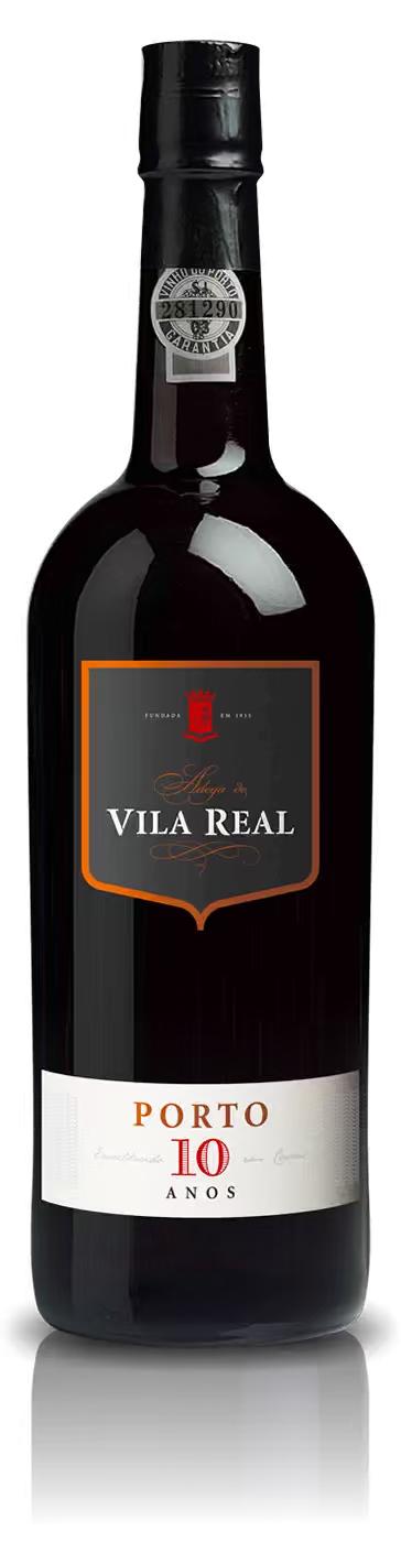 Vinho do Porto Vila Real 10 Anos 750mL  - ADEGA FARRET