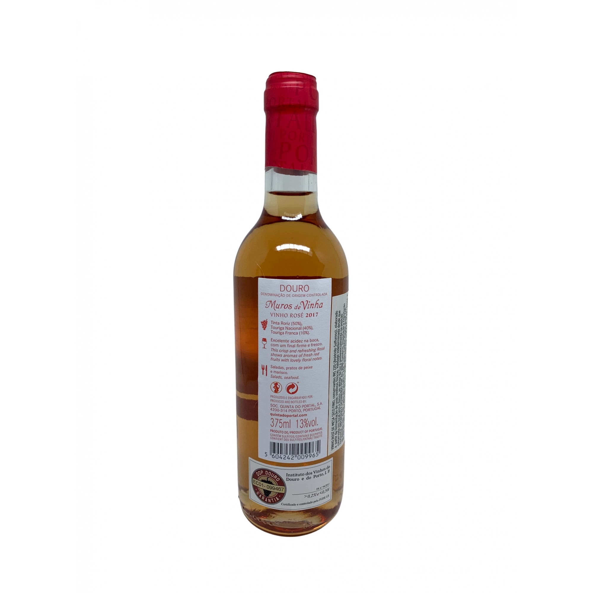 Vinho Rosé Muros de Vinha 375mL  - ADEGA FARRET