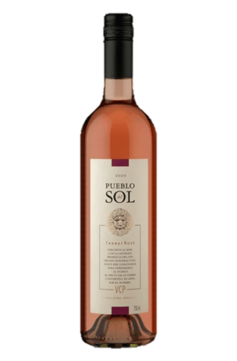 Vinho Rosé Pueblo Del Sol Tannat 750mL  - ADEGA FARRET