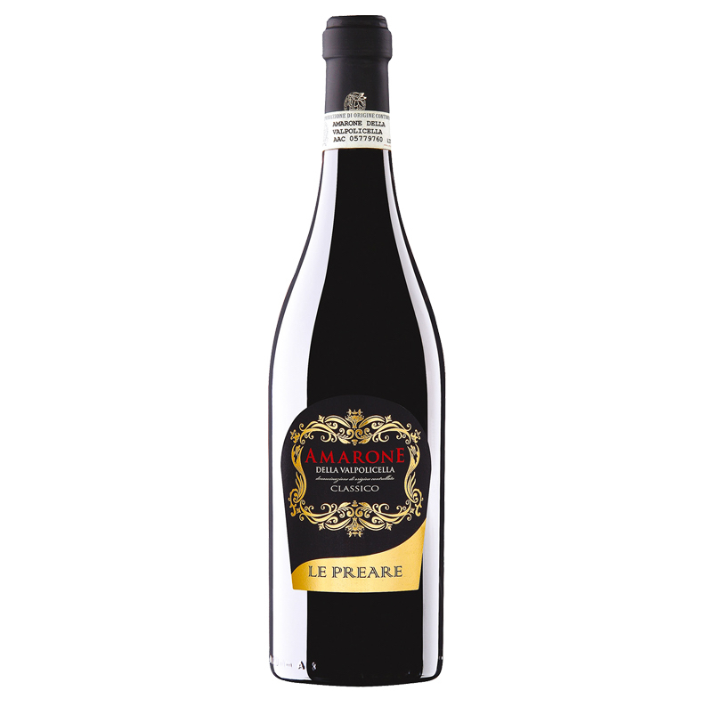 Vinho Tinto Amarone Della Valpolicella Classico Le Preare 750mL  - ADEGA FARRET