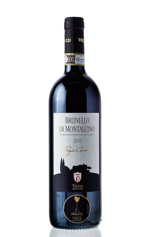 Vinho Tinto Brunello di Montalcino DOCG Poggio Cerrino 750mL  - ADEGA FARRET