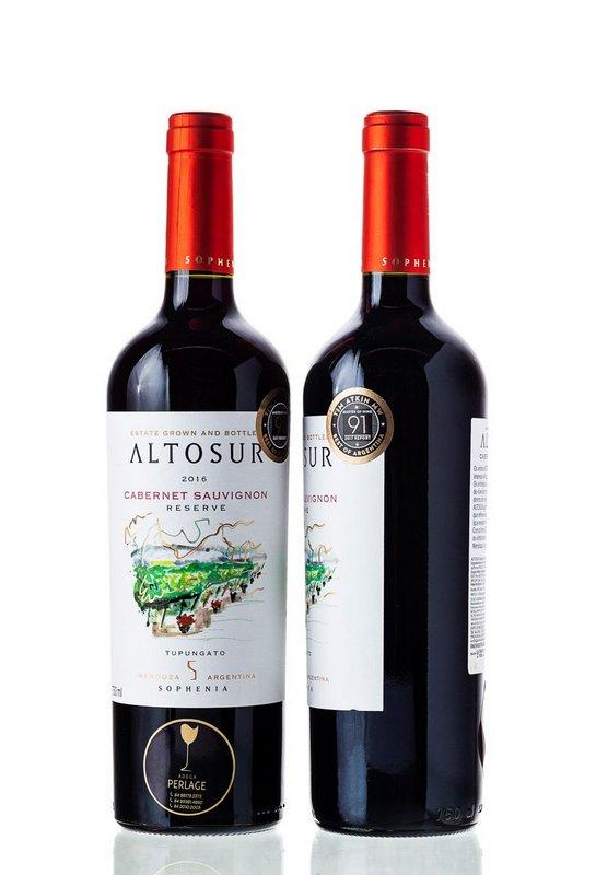 Vinho Tinto Cabernet Sauvignon AltoSur Sophenia 750mL  - ADEGA FARRET