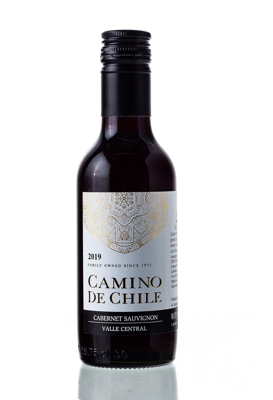 Vinho Tinto Camino de Chile Cabernet Sauvignon 187,5mL  - ADEGA FARRET