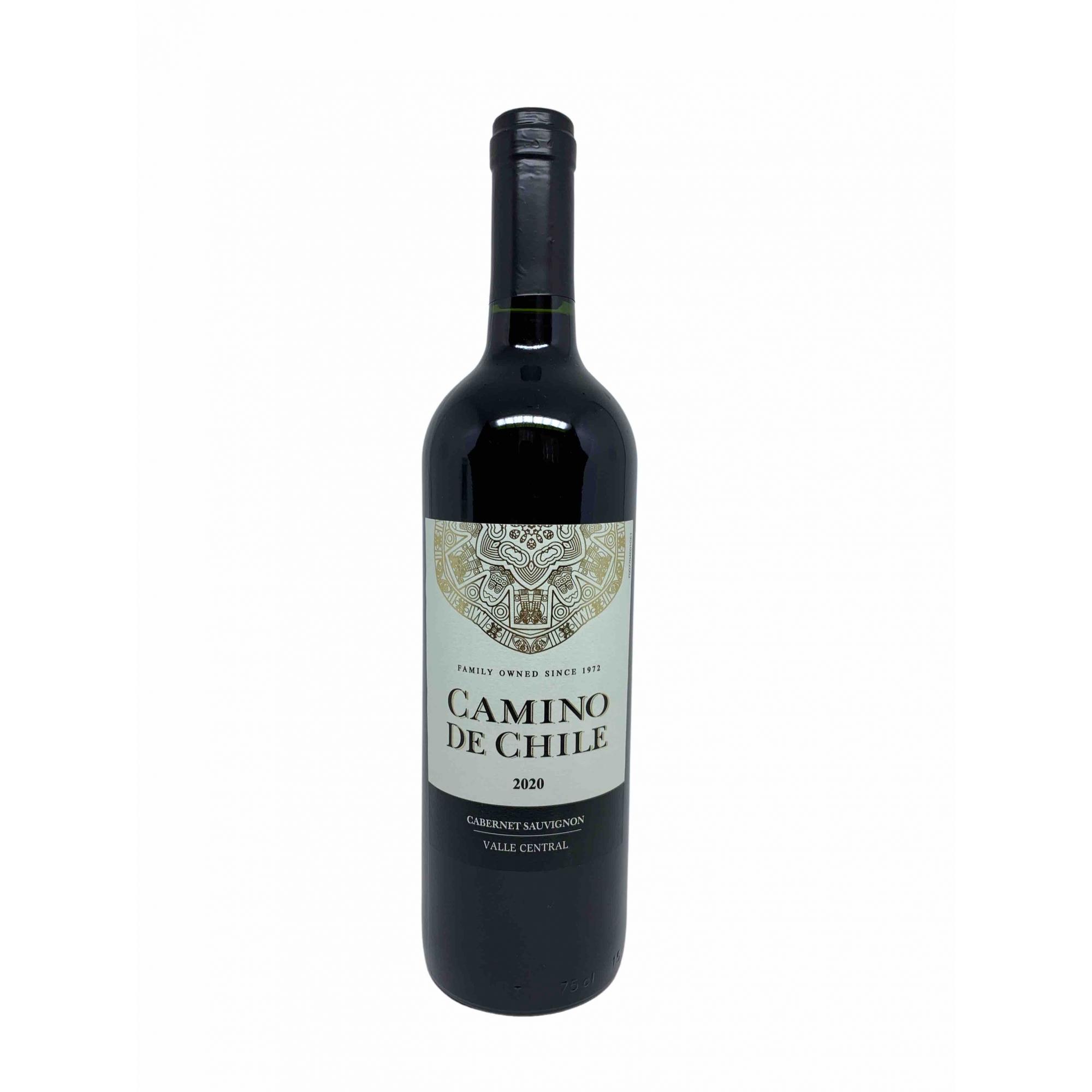 Vinho Tinto Camino de Chile Cabernet Sauvignon 750mL  - ADEGA FARRET