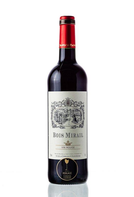 Vinho Tinto Francês Bois Mirail 750mL  - ADEGA FARRET