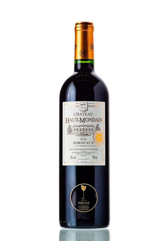 Vinho Tinto Gran Bourdeaux Chateau Haut Mondain AOC 750mL  - ADEGA FARRET