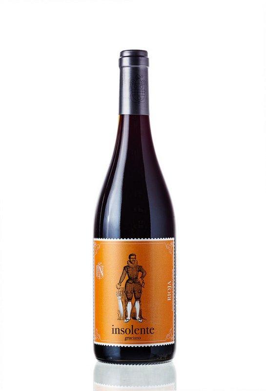 Vinho Tinto Insolente Graciano Rioja 750mL  - ADEGA FARRET