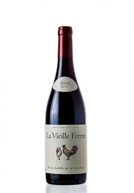 Vinho Tinto La Vieille Ferme Rouge Cotes Du Ventoux 2017 750mL  - ADEGA FARRET