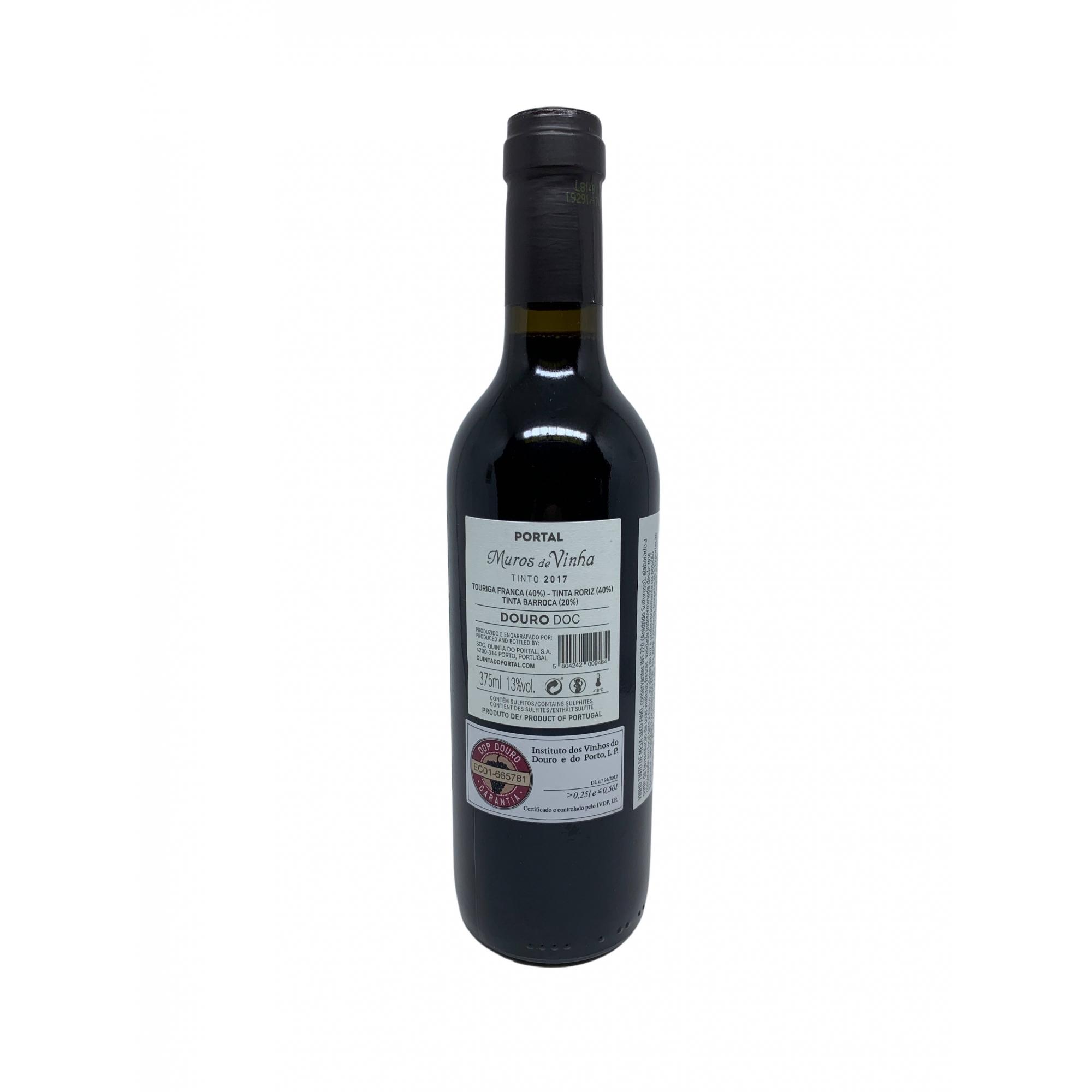 Vinho Tinto Muros de Vinha 375ml  - ADEGA FARRET