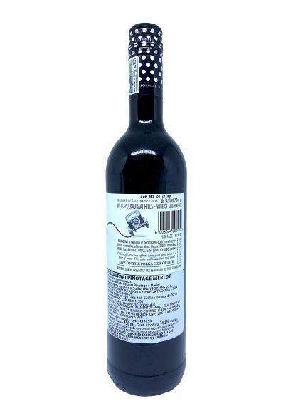Vinho Tinto Polkadraai Stellembosh Pinotage Merlot 750mL  - ADEGA FARRET