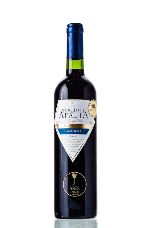 Vinho Tinto San José de Apalta Clássico Carmenere 750mL  - ADEGA FARRET