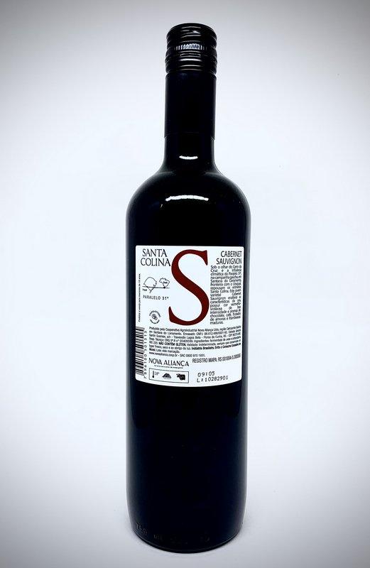 Vinho Tinto Santa Colina Cabernet Sauvignon 750mL  - ADEGA FARRET