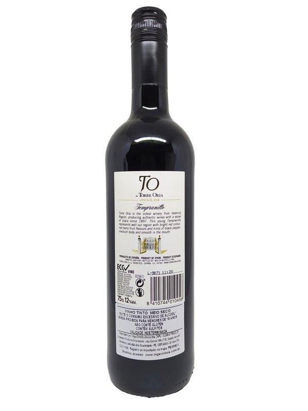 Vinho Tinto Torre Oria Tempranillo 750mL  - ADEGA FARRET