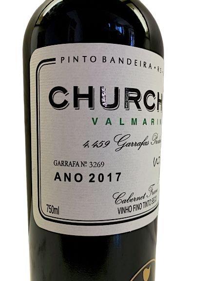 Vinho Tinto Valmarino Churchil 750mL  - ADEGA FARRET