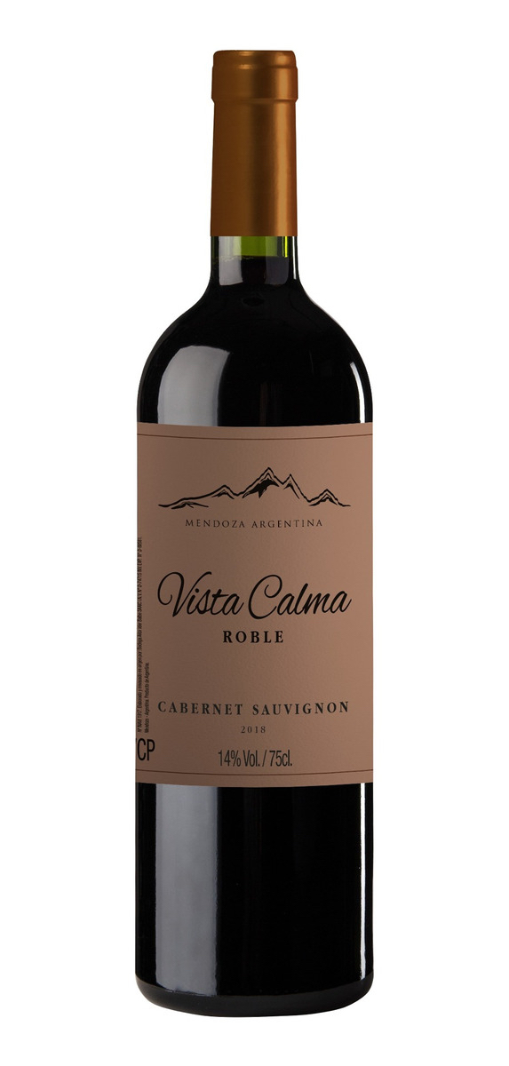 Vinho Tinto Vista Calma Roble Cabernet Sauvignon 750mL  - ADEGA FARRET