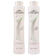 Nouar Escova Progressiva Citrico  Kit 2x1000ml