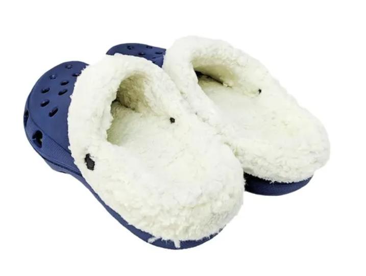 Sandália Caliga marinho forrado com lã