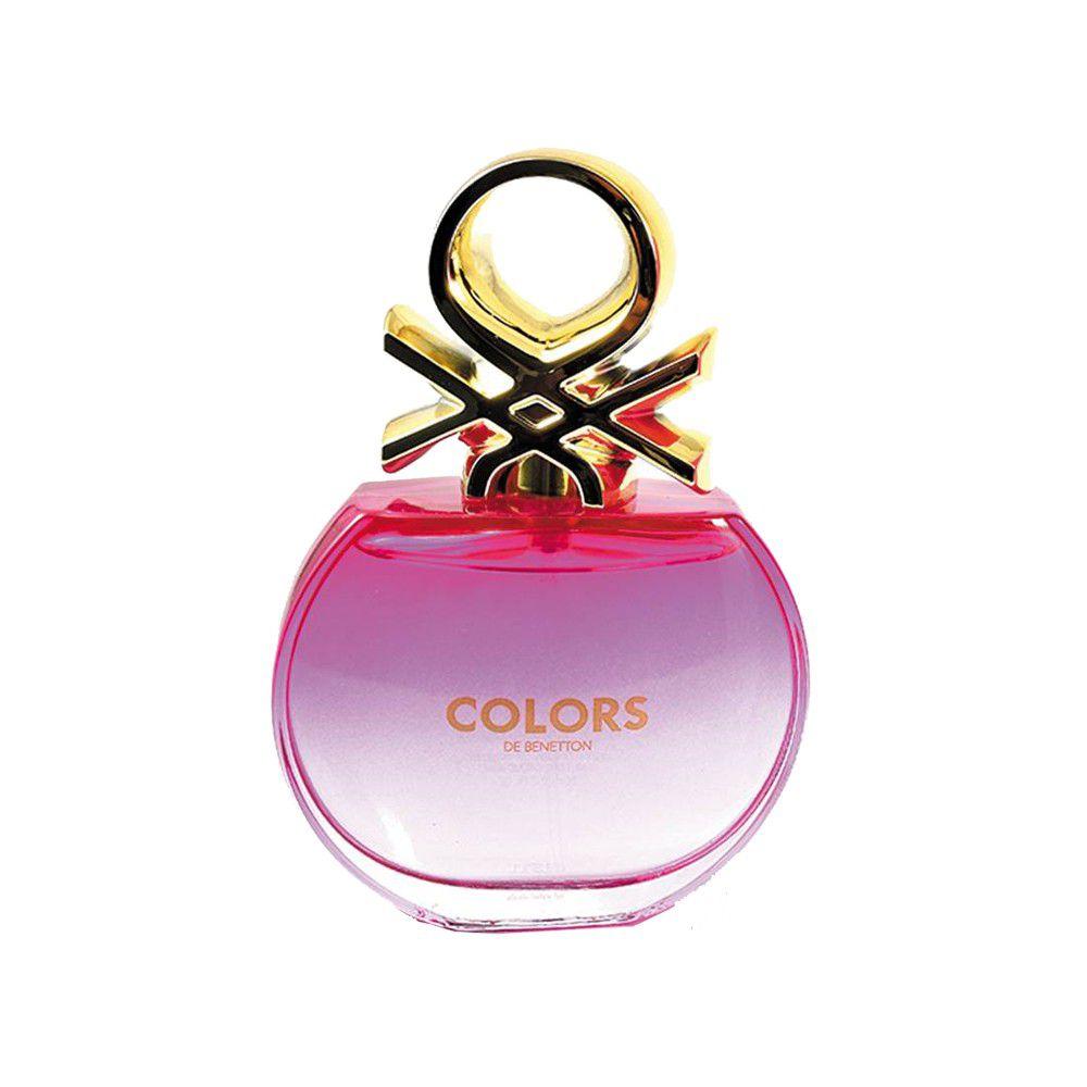 Benetton Colors Pink Feminino