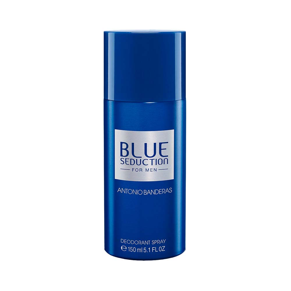 Desodorante Antonio Banderas Blue Seduction  Masculino 150ml