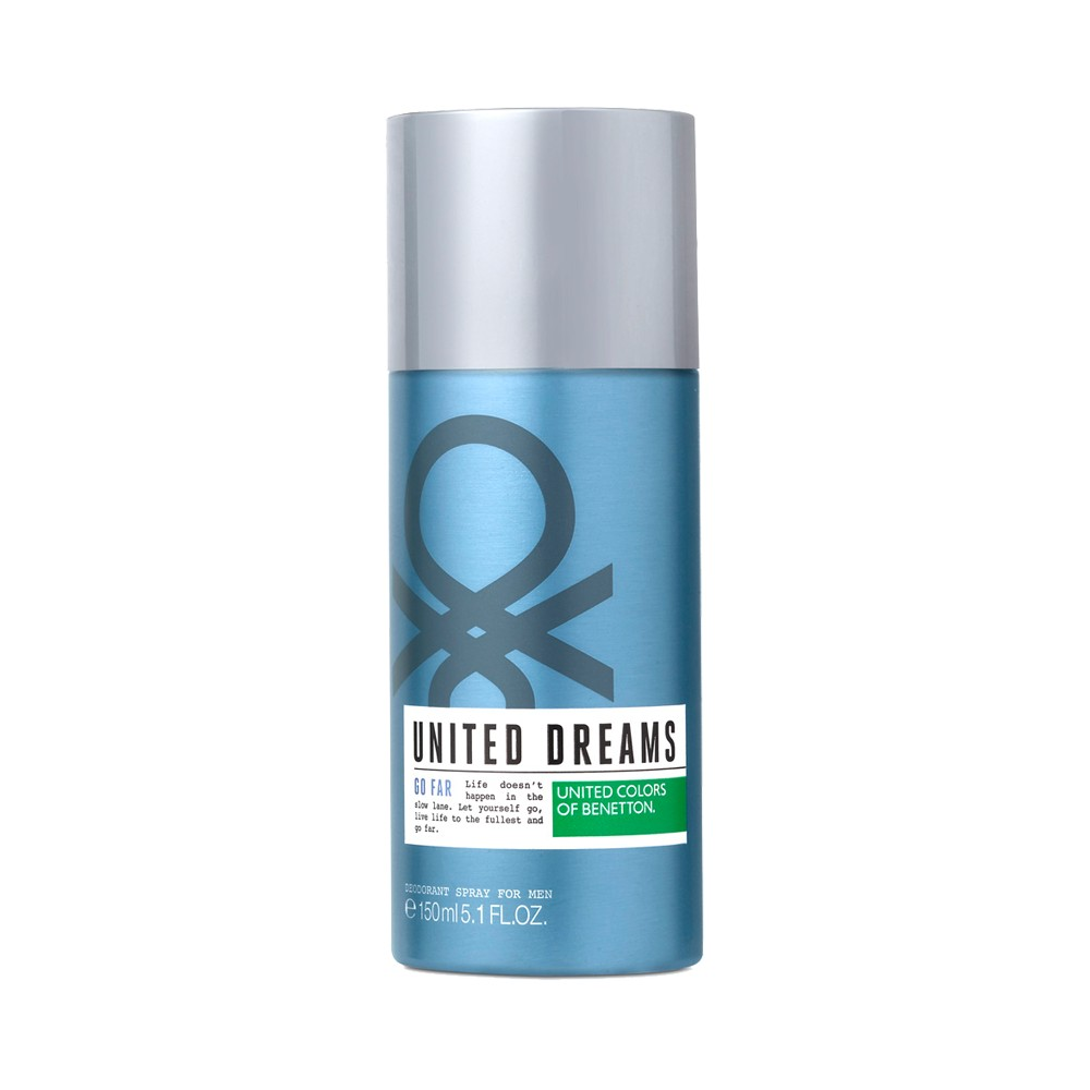 Desodorante Benetton United Dreams Go Far  Masculino 150ml
