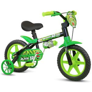 Bicicleta Aro 12 Infantil Masculina Black 12