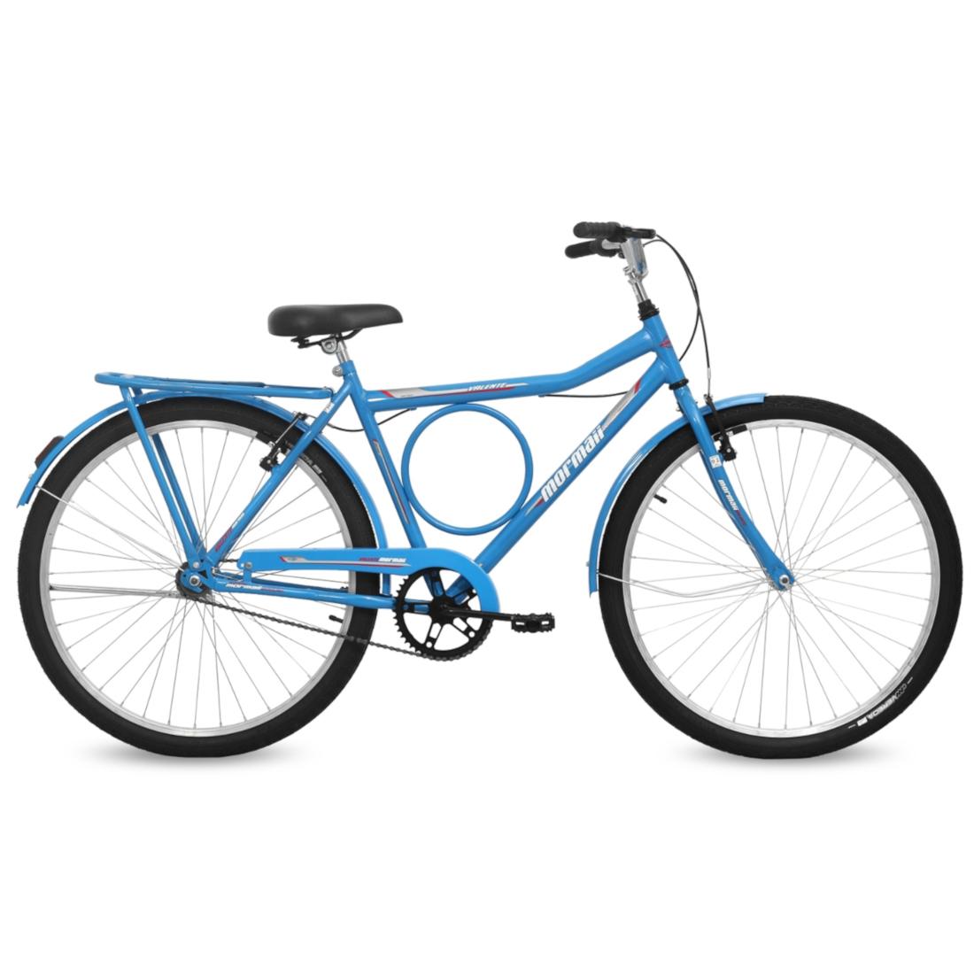 Bicicleta Aro 26 Q19,5  Freio FF Valente Azul Porche Mormaii