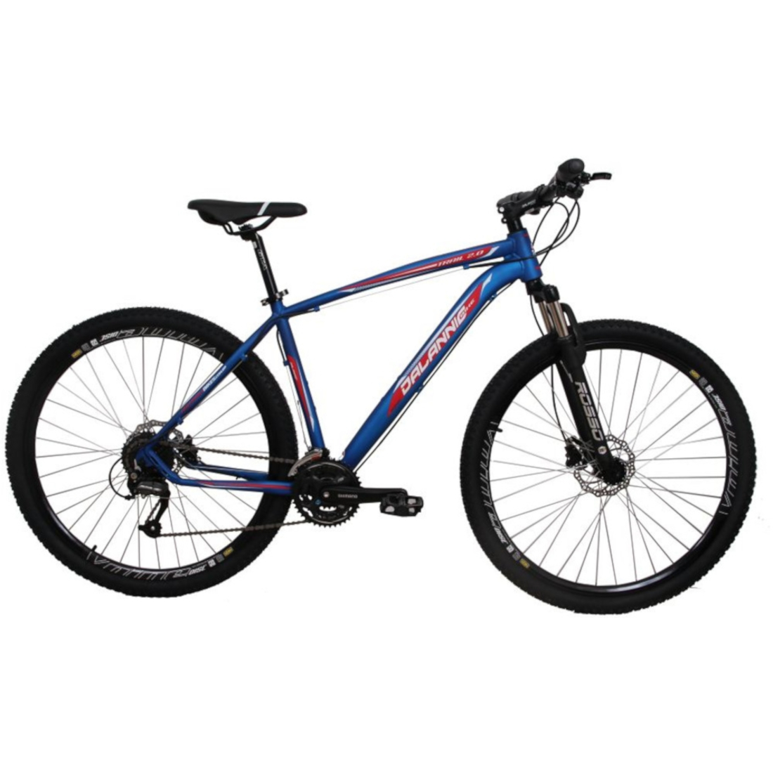 Bicicleta Aro 29 Alumínio 27V Freio Hidráulico Trail Azul