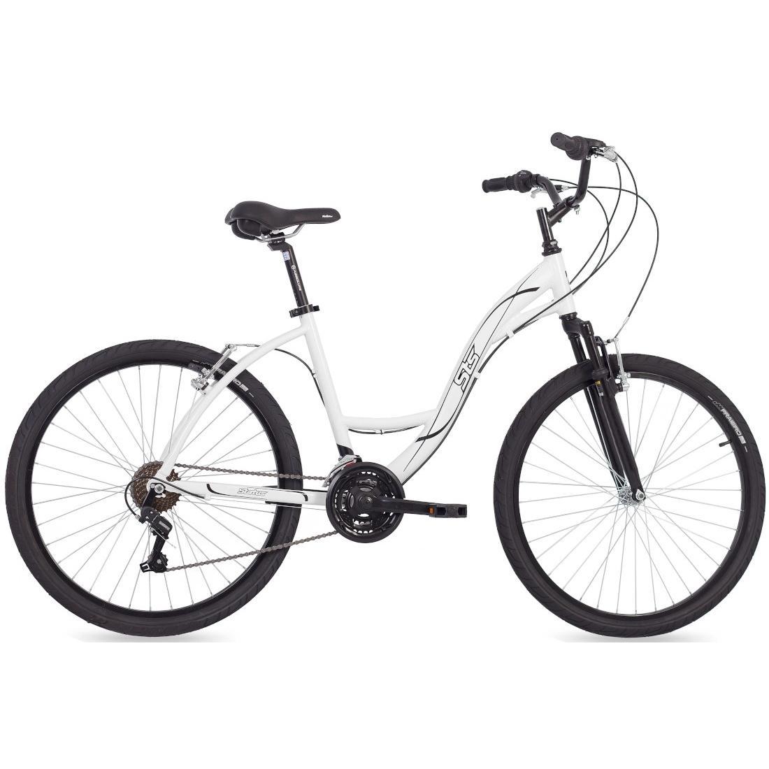 Bicicleta Aro Aero 26 Alumínio 21V Shimano Suspensão Urbana Branca