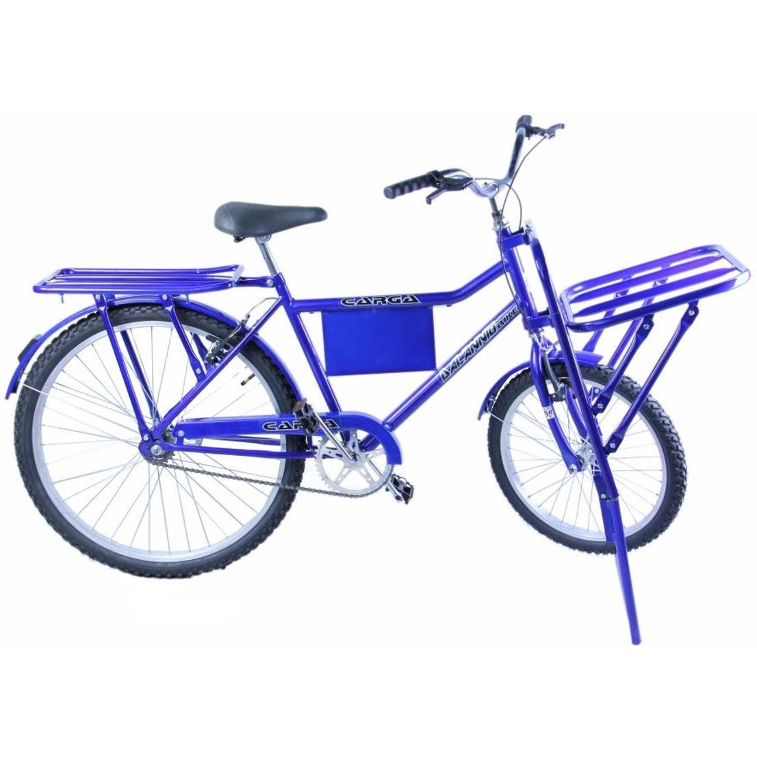 Bicicleta Carga Aro 26 cor Azul