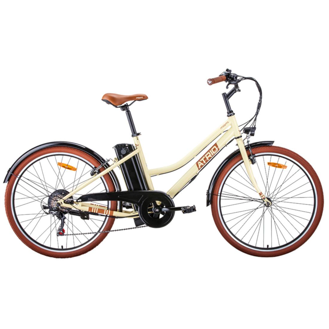 Bicicleta Elétrica Aro 26 Retrô Vintage 6V 350W Shimano