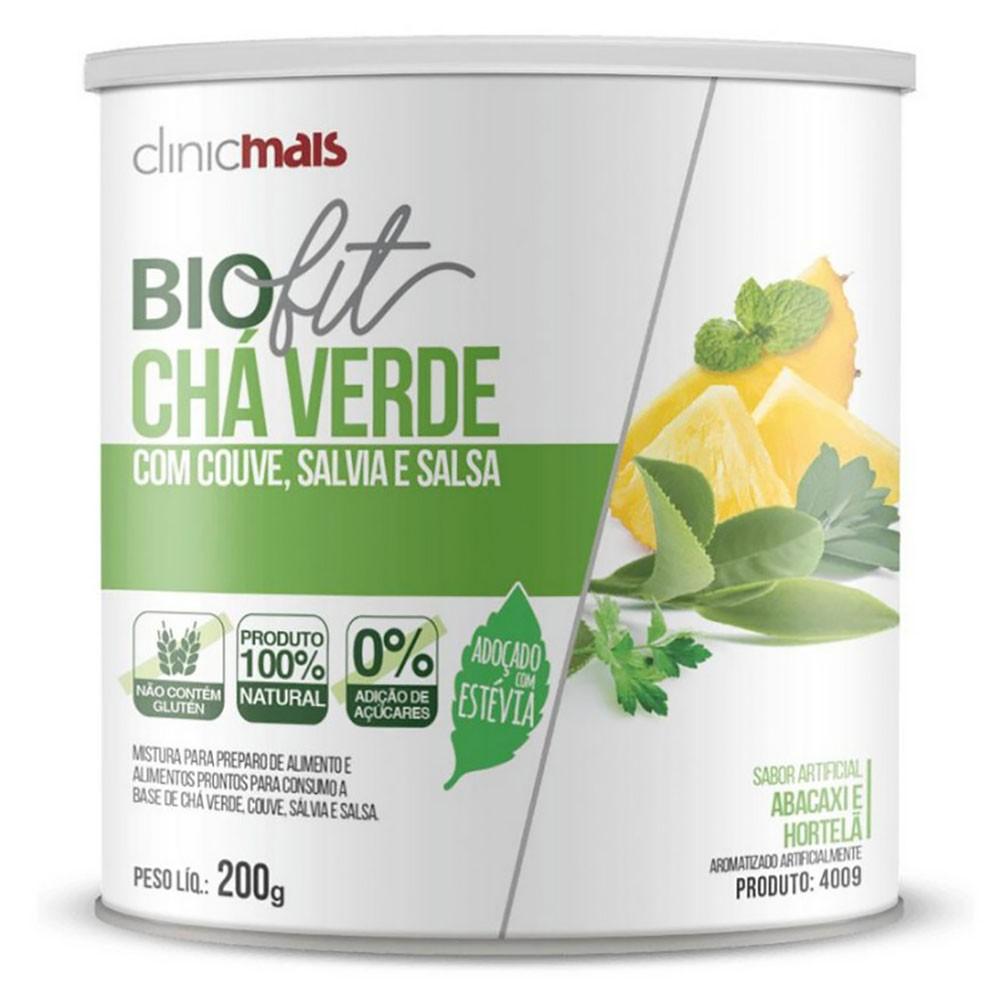 Biofit Emagrecimento Chá Verde Instantâneo com Couve Salvia e Salsa 200g