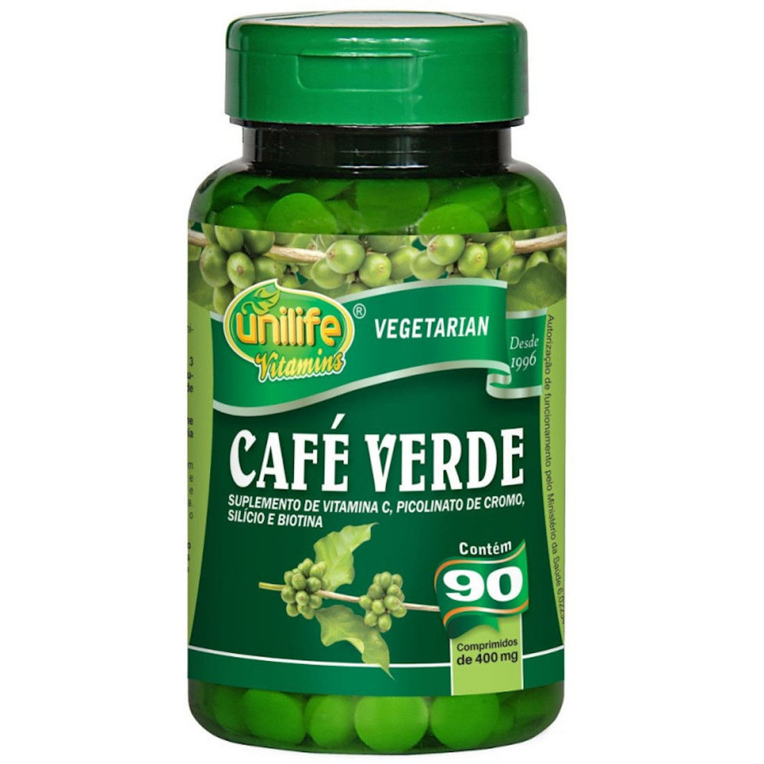 Café Verde 90 comprimidos de 400mg