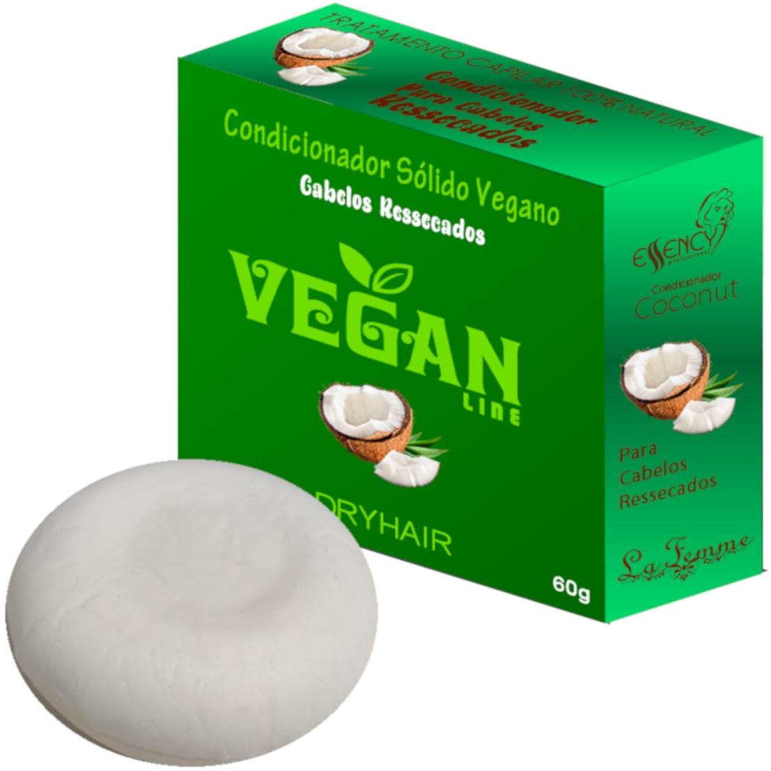 Condicionador Sólido Vegan Line-Coco