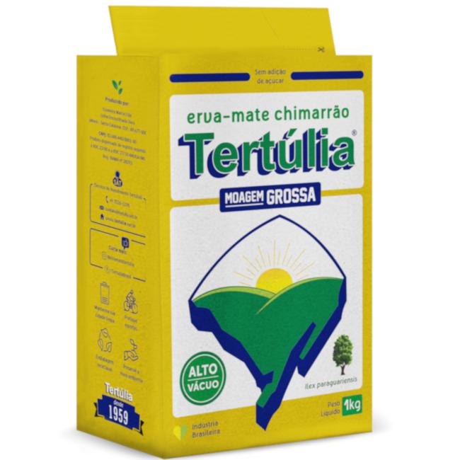 Erva-Mate MOAGEM GROSSA de qualidade para Chimarrão Embalagem a Vácuo 1kg