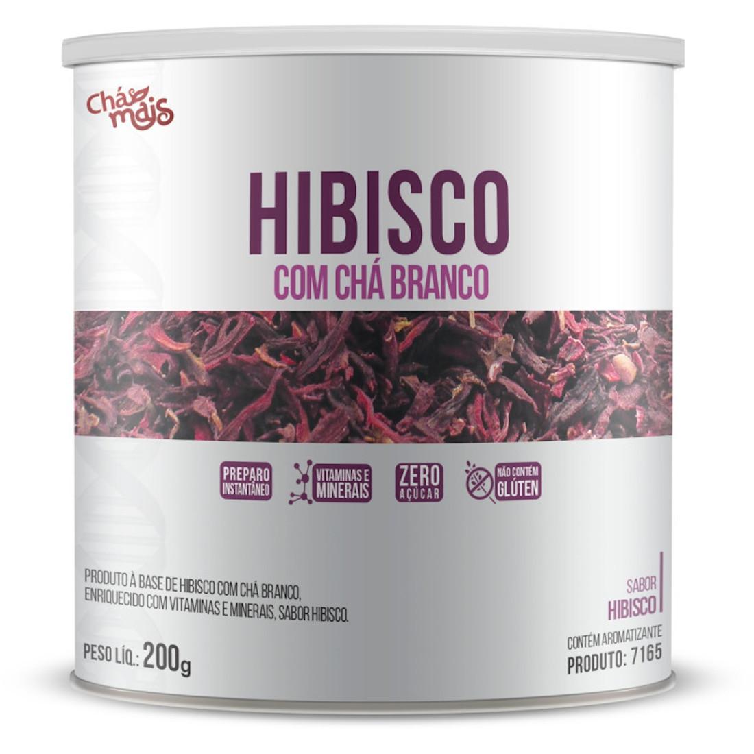 Hibisco Instantâneo com Chá Branco ZERO AÇÚCAR 200g